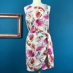 Dresses & Skirts - Hawaiian style faux wrap dress, sz XL
